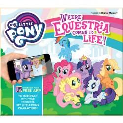 Детская книга My Little Pony: Where Equestria Comes to Life с Дополненной Реальностью