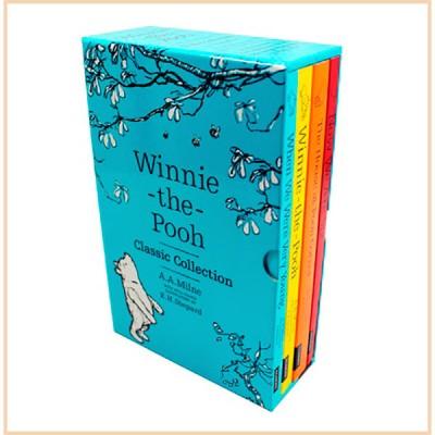 Коллекция книг A. A. Milne Winnie-the-Pooh Classic Collection (4 Books, Винни Пух)