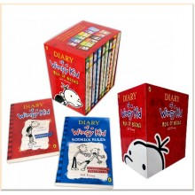Puffin Diary of a Wimpy Kid Collection (12 Books)