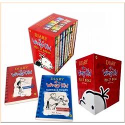 Детская коллекция книг Diary of a Wimpy Kid Collection (Дневник слабака, 12 Books)