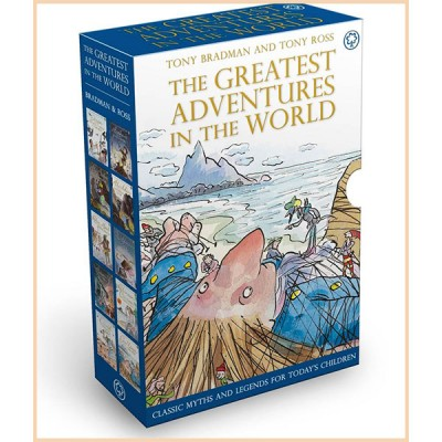 Детская коллекция книг The Greatest Adventures in the World Collection (10 books)