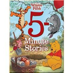Детский сборник рассказов Disney 5-minute Winnie The Pooh Stories (Винни Пух)