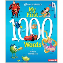 Детская книга Disney Learning My First 1,000 Words