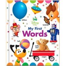 Детская книга Disney Baby My First Words (Board book)