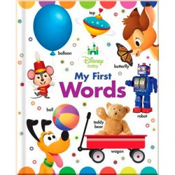 Детская книга Disney Baby My First Words (Board book)