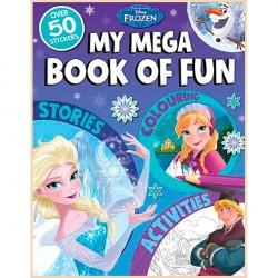 Детская книга со стикерами Disney My Mega Book of Fun: Frozen