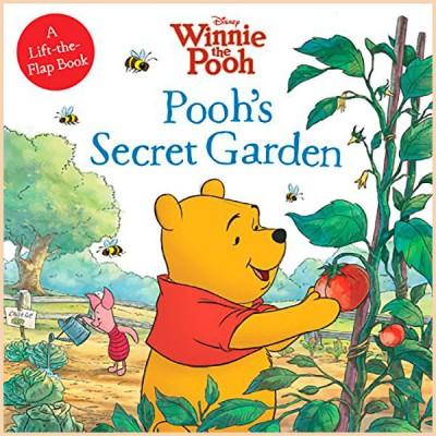 Детская книга Disney Pooh's Secret Garden (Тайный Сад Винни Пуха)