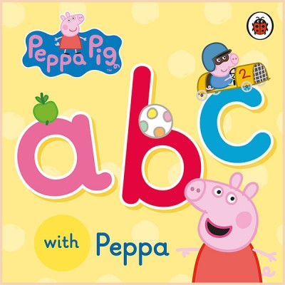 Детский алфавит Ladybird Peppa Pig: ABC with Peppa (Свинка Пеппа: АВС с Пеппой)