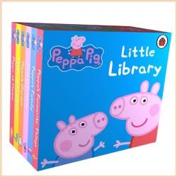Детская коллекция книг Ladybird Peppa Pig: Little Library (6 Board Book, Свинка Пеппа)