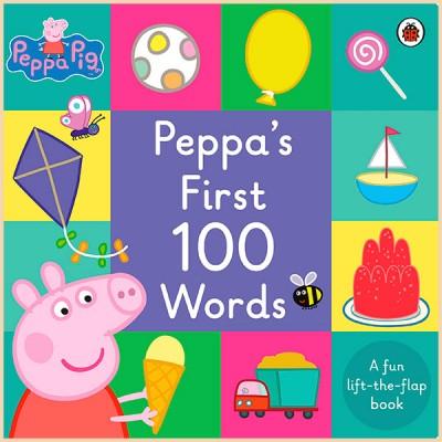 Детская книга Peppa Pig: Peppa's First 100 Words (Свинка Пеппа: Первые 100 Слов)