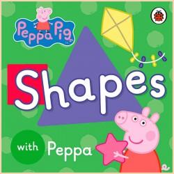 Детская книга Ladybird Peppa Pig: Shapes with Peppa (Свинка Пеппа: Формы с Пеппа)