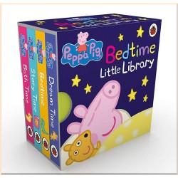 Детская коллекция книг Ladybird Peppa Pig: Bedtime Little Library (4 Board Book, Свинка Пеппа)