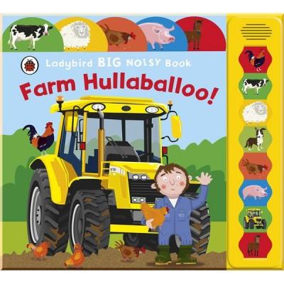 Детская звуковая книга Farm Hullaballoo! Ladybird Big Noisy Book
