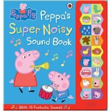 Детская книга со звуковыми эффектами Peppa Pig: Peppa's Super Noisy Sound Book (Свинка Пеппа)