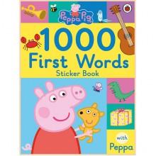 Детская книга Ladybird Peppa Pig: 1000 First Words Sticker Book (Свинка Пеппа: 1000 Первых Слов)