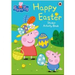 Детская книга со стикерами Peppa Pig: Happy Easter (Sticker Activity Book)