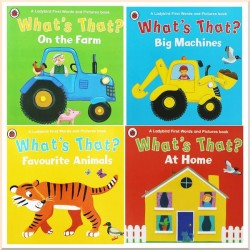 Детская коллекция книг What's That? Ladybird First Words and Pictures (4 books)