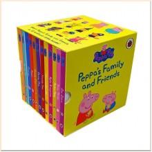Детская коллекция книг Peppa's Family and Friends Collection (Свинка Пеппа, 12 книг)