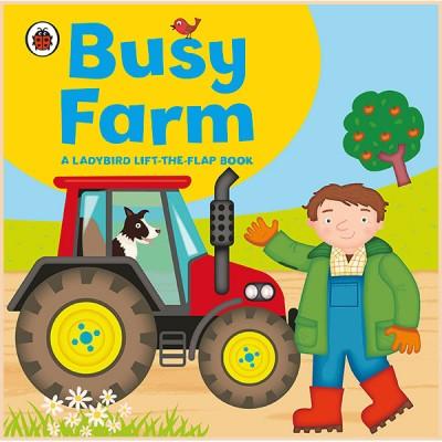 Детская книга Ladybird lift-the-flap book: Busy Farm