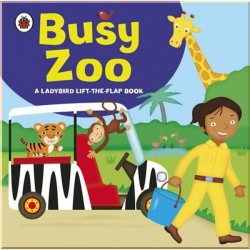 Детская книга Ladybird lift-the-flap book: Busy Zoo