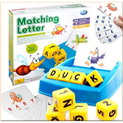Детская игра Alphabet Letter Word Match and Spell Board Games for Preschoolers