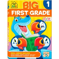 Детская книга Big First Grade Big Get Ready Workbook