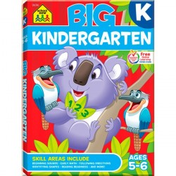 Детская книга Big Kindergarten Big Get Ready Workbook