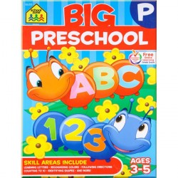 Детская книга Big Preschool Workbook: Ages 3-5