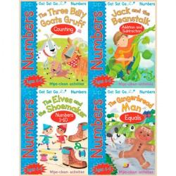 Детская коллекция книг Get Set Go: Numbers (4 Books)