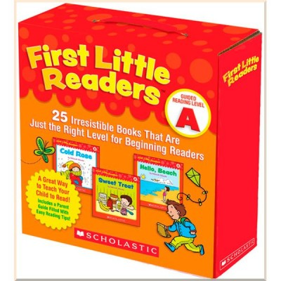 Детская коллекция книг First Little Readers: Guided Reading Level A: 25 Irresistible Books