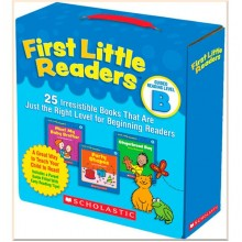 Детская коллекция книг First Little Readers: Guided Reading Level B: 25 Irresistible Books