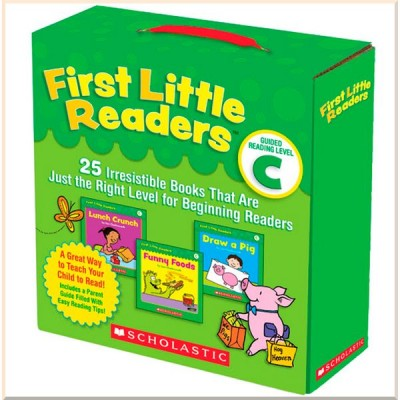 Детская коллекция книг First Little Readers: Guided Reading, Level C: 25 Irresistible Books
