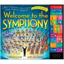 Детская книга со звуковыми эффектами Welcome To The Symphony