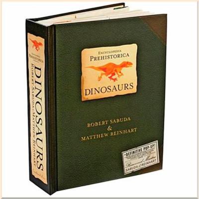 Детская энциклопедия Encyclopedia Prehistorica Dinosaurs: The Definitive Pop-Up