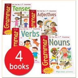 Грамматика английского языка для детей Get Set Go Grammar 4-book set