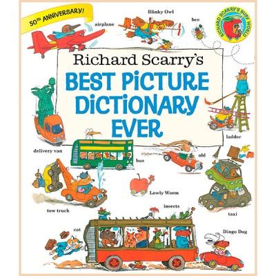 Детский словарь в картинках Best Picture Dictionary Ever (Ричард Скарри)