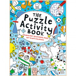Детская книга The Puzzle Activity Book (Buster Activity)