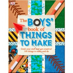 Детская книга DK The Boys Book of Things to Make