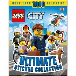 Детская книга со стикерами LEGO City Ultimate Sticker Collection