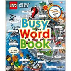 Детская книга LEGO CITY Busy Word Book