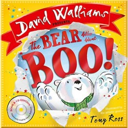 Детская книга The Bear Who Went Boo with CD
