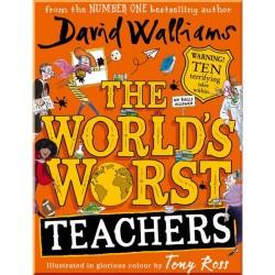 Детская книга The World's Worst Teachers (David Walliams)