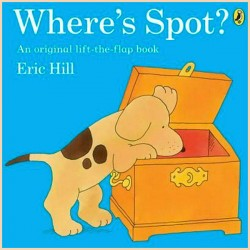 Детская книга Eric Hill Where's Spot? Lift The Flap Book
