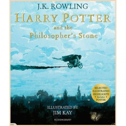 Детская книга Harry Potter and the Philosopher's Stone: Illustrated Edition (Гарри Поттер, Джоан Роулинг)