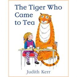 Детская книга Judith Kerr The Tiger Who Came to Tea (Тигр, который пришел на чай)
