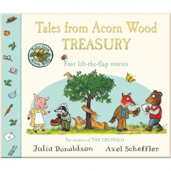 Детская книга Tales From Acorn Wood Treasury: Four Lift-the-Flap Stories