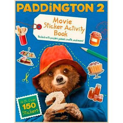 Детская книга со стикерами Michael Bond Paddington 2 (Паддингтон)