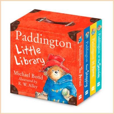 Детская коллекция книг Michael Bond Paddington Little Library (Паддингтон)
