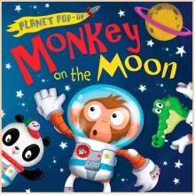 Детская книга Monkey on the Moon (Planet Pop Up)