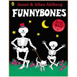 Детская книга Funnybones: Book and CD (Джанет Холл и Аллан Алберг)